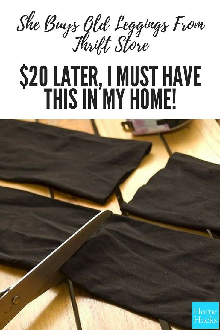 Don't Toss Your Old Leggings And Tights. Here Are 15 Nifty Ways To Reuse Them 11