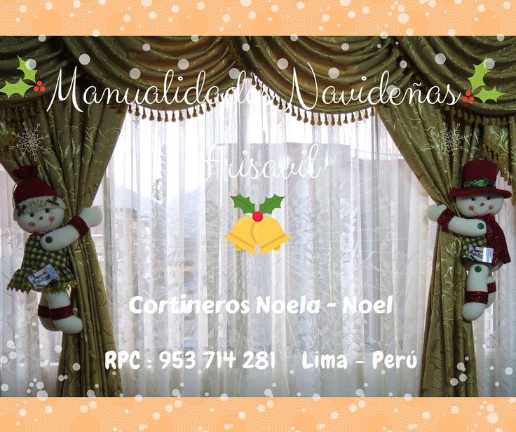 #cortineros Navideños 🎄🎅⛄ #decoracionnavideña #manualidades #hechoamano