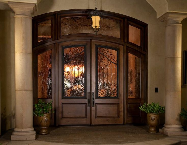 14 Beautiful Ideas Of Double Front Door With Sidelights