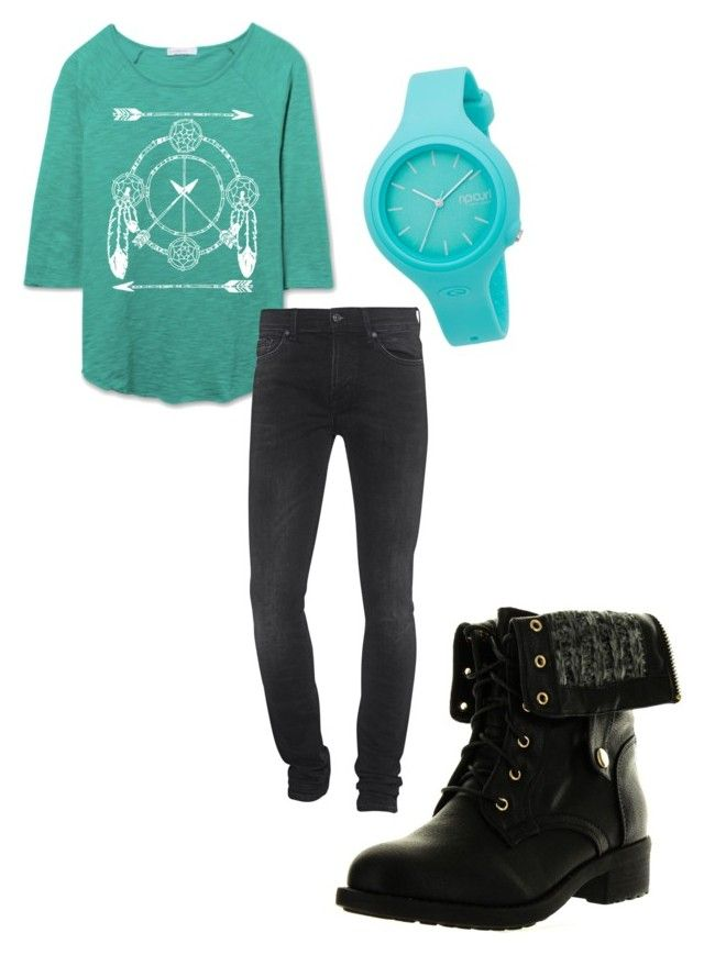 """""""Tooru 003"""" by ellancher on Polyvore featuring Refresh, Rip Curl and 7 For All Mankind"""