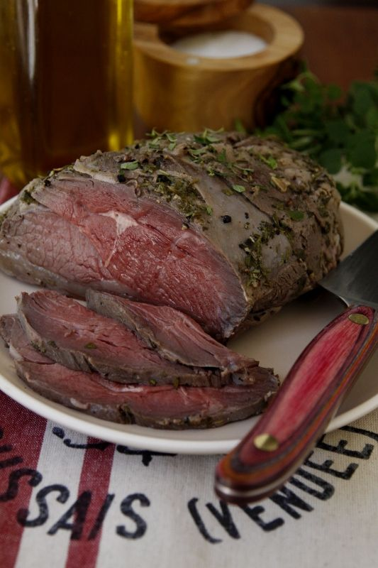 How To Roast A Leg Of Lamb Recipe — Dishmaps