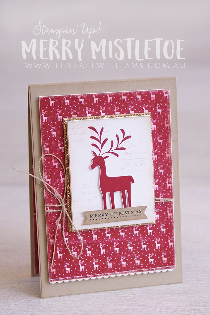 The 25 best stampin up christmas 2017 2018 ideas on pinterest stampin up christmas 2018 - Pinterest noel 2017 ...
