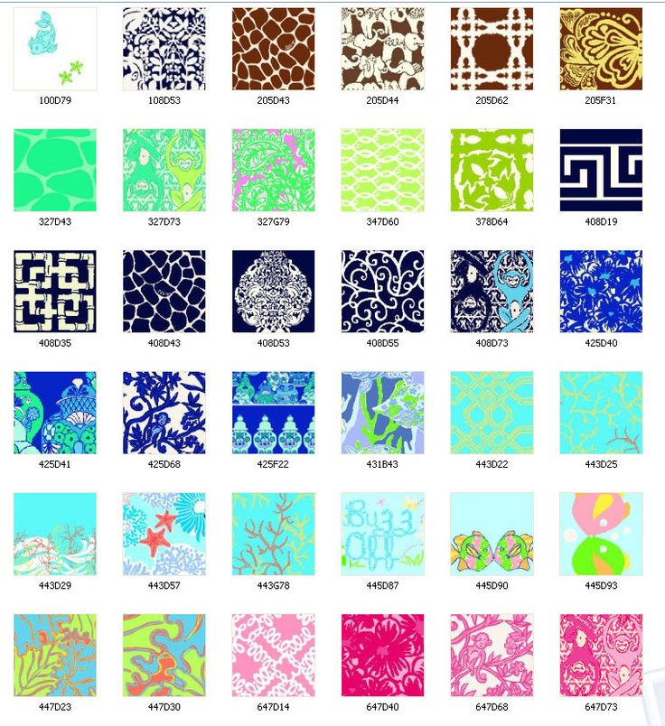 2008 Lilly Pulitzer Prints