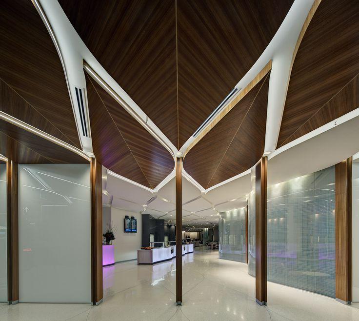 Virgin Lounge Melbourne :: Tonkin Zulaikha Greer Architects