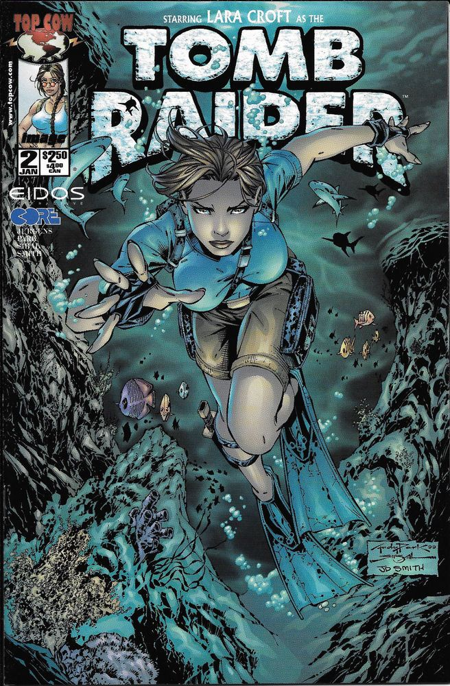 Tomb Raider: Lara Croft  #2 NM Unread Top Cow NEW MOVIE SOON GREAT COVER !!
