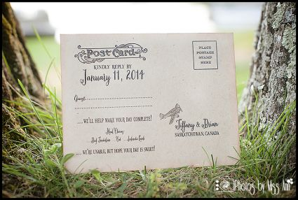 Destination Wedding Reply Card Ideas Vintage Plane Post Card Photos by Miss Ann Iceland Wedding RSVP