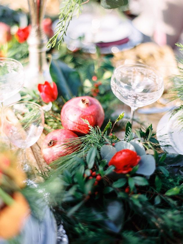 Christmas Wedding Inspiration | Unique2Chic Photography | Honeybee Events | Bridal Musings Wedding Blog