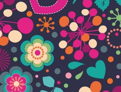 Love & Flowers - Blackberry Curve 8520 9300