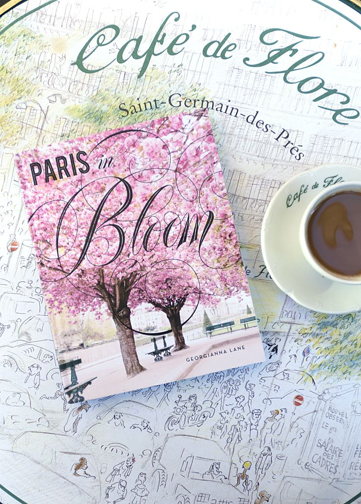 """""""Paris in Bloom"""", the new book by photographer Georgianna Lane, takes you on a gorgeous floral tour of Paris. Releasing March 14, 2017 and available here http://georgiannalane.com/paris-in-bloom  #paris #parisinbloombook #parisfrance"""