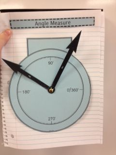 such a good idea! I wish i'd known this when my 4th grade student was learning angles!!
