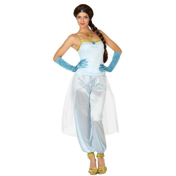 Déguisement Princesse Arabe Blanche #déguisementsadultes #costumespouradultes #nouveauté2015