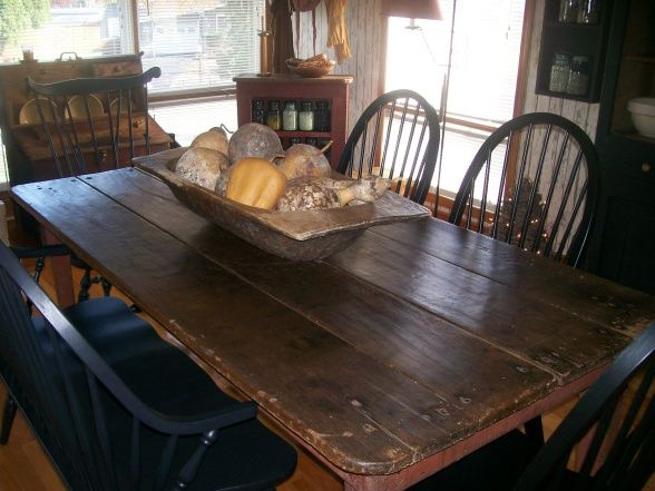 *NEW* Primitive Dining Room