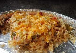 Fajita Chicken and Rice Bake: Make Ahead Meals, Chicken Fajitas, Caitlin Cooking, Bake, Rice Baking, Fajitas Casseroles, Freezers Meals, Rice Casserole, Fajitas Chicken