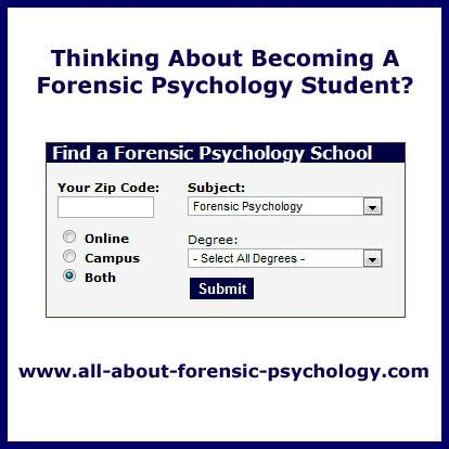 forensic psychology dissertations