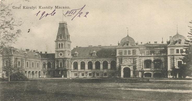 Arad - Castelul din Macea - antebelica