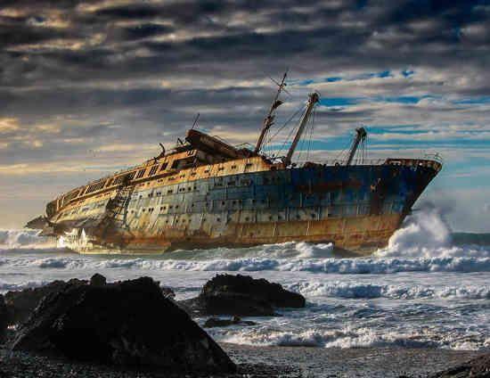 40 endroits abandonnés et effrayants à travers le monde
