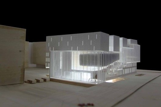 Tsinghua College Legislation Division Library Proposal / Zhubo