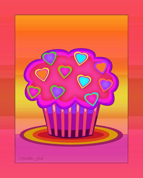 Cupcake Art Design : 115 best Cupcake images on Pinterest Cupcake art ...
