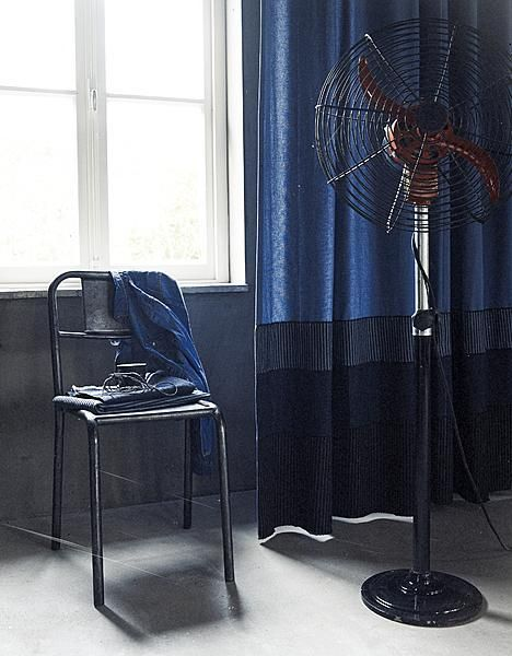 Denim curtains - inspiration for your home