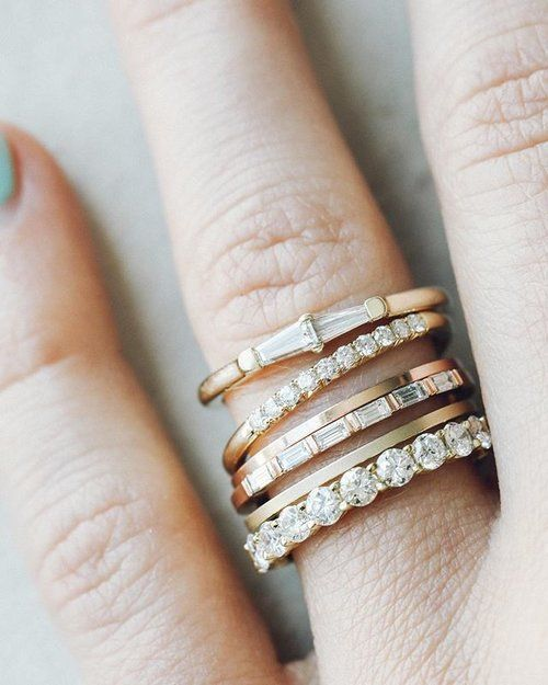 Individual show-stoppers — but better together. You might love wearing 1 (or 5) of our stackers because they rock. shop our link in the bio — tag someone you love ❤️