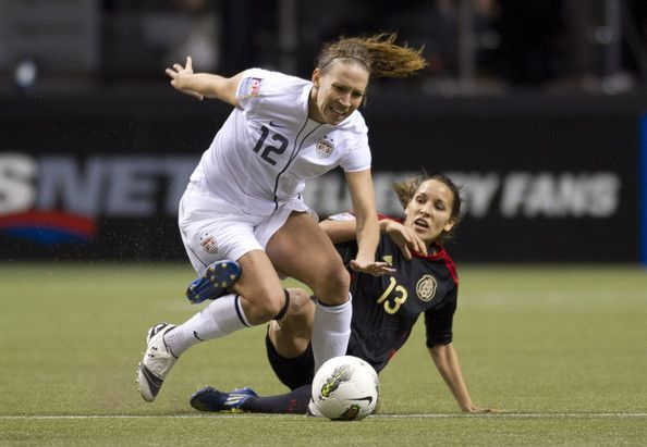 Lauren Cheney Photos: 2012 CONCACAF Women's Olympic Qualifying - United States v Mexico