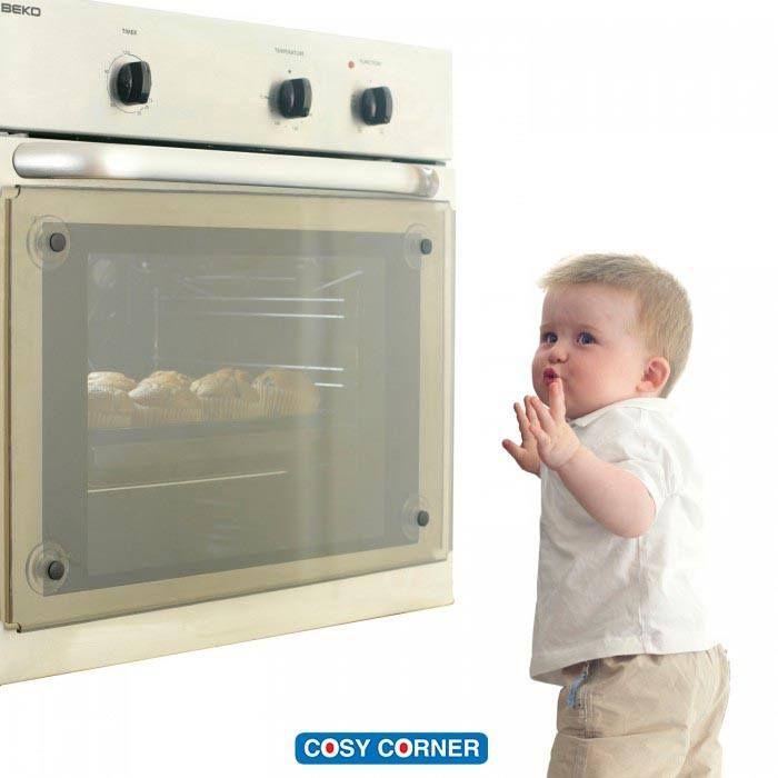 Το διάφανο προστατευτικό φούρνου βοηθά να μην πάθουν εγκαύματα τα μικρά χεράκια εάν έρθουν σε επαφή με την καυτή πόρτα του φούρνου. Μειώνει την θερμότητα κατά 50%. https://goo.gl/Ef1TFz