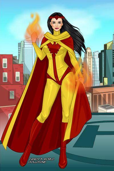 Firebird by operaphantom ~ Marvel X-Men Dress Up   Girls ... X Men Girls Dress Up