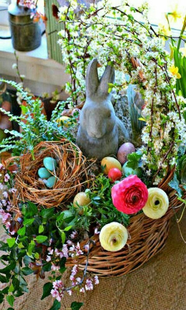 603 best holiday and party we celebrate images on pinterest easter decorations ideas34 negle Image collections