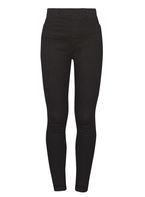 Womens Black 'Eden' High Waist Ultra Soft Jeggings- Black