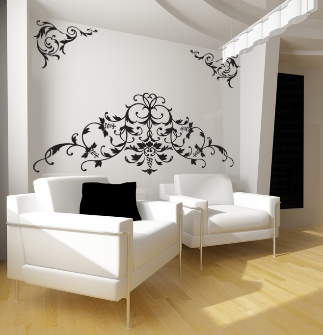 39 Best Stickers Arabesques Images On Pinterest | Baroque, Wall
