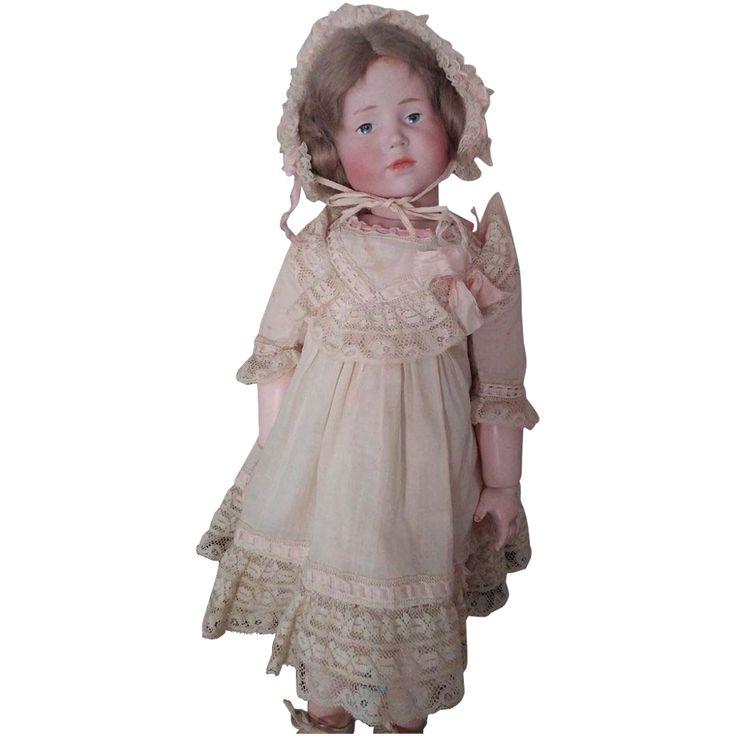 Kammer And Reinhardt 101 Doll 16 All Original Ca1907 Flower Girl Dresses Doll Clothes Felt Dolls