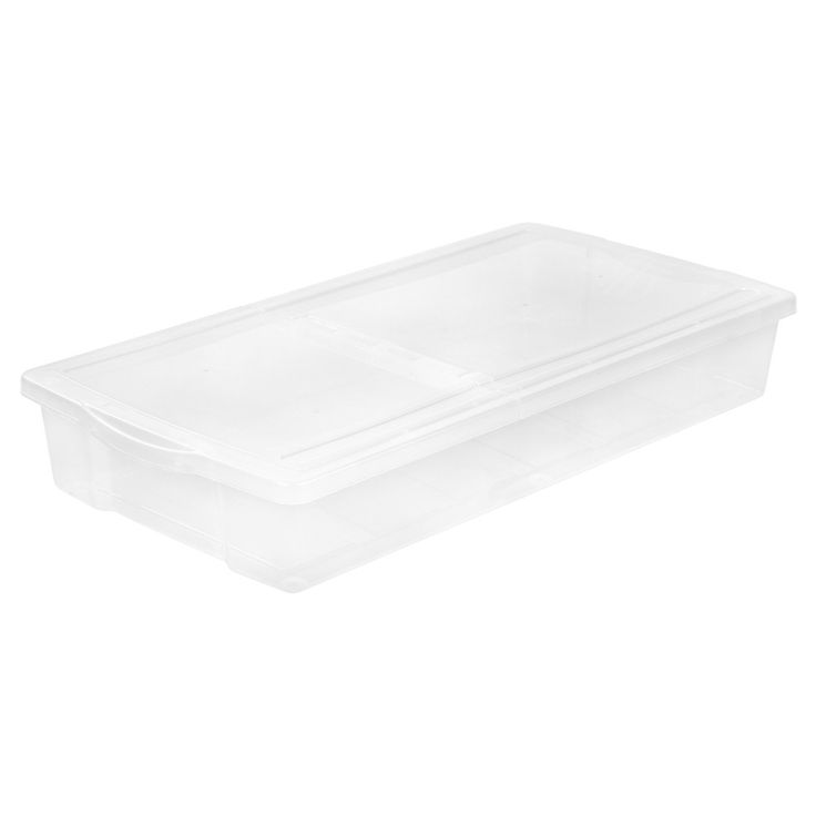 Iris - 58 Qt Utility Storage Tubs And Totes - Clear