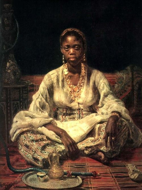 african american artists 1800 | 1800s Week!Ilya RepinNegrityanka (Negress)1876Russian Museum, St ...