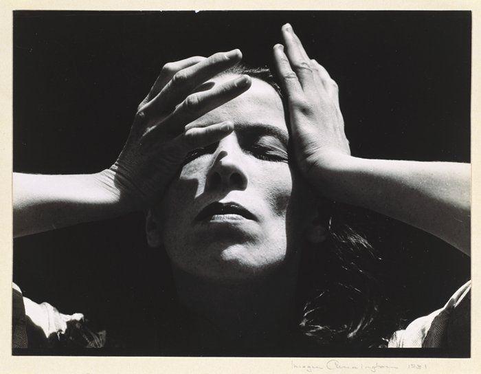 Martha Graham, bailarina y coreografa estaunidense de danza moderna.
