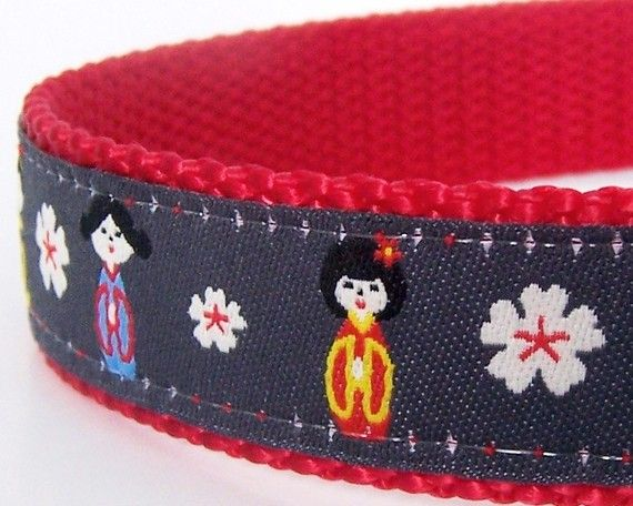 I really like the red backgroundGirls Dogs Collars, Japanese Girls, Dogs Stuff, Dog Collars