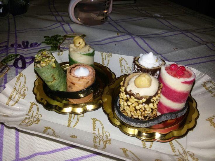 Sushi gelato con la mia amichetta :)