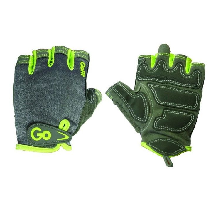 fingerless exercise gloves