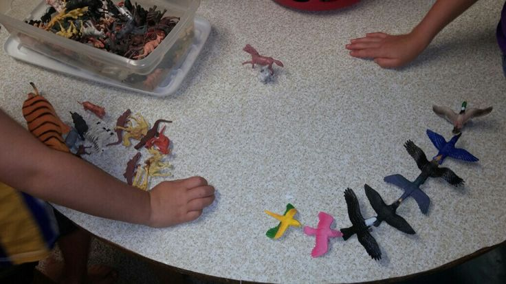 Animal Classification Activity - sort plastic animals or have students bring in stuffed animals from home. Put each animal into the correct classification group. Hands on Science!