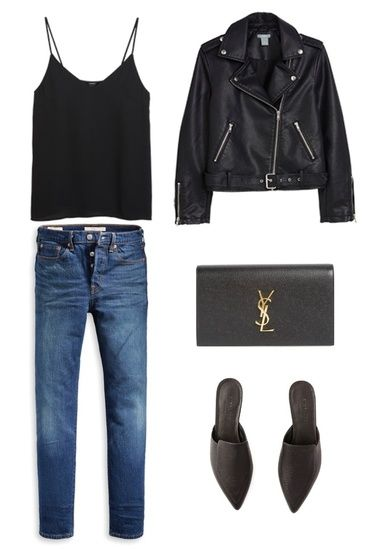 Girls night out outfit made of your capsule wardrobe. #ShopStyle #MyShopStyle #F…