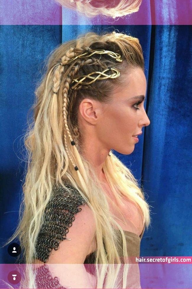 Viking Braids Aesthetic In 2020 Viking Hair Braided Hairstyles Viking Brai In 2020 Viking Hair Braided Hairstyles Hair Styles