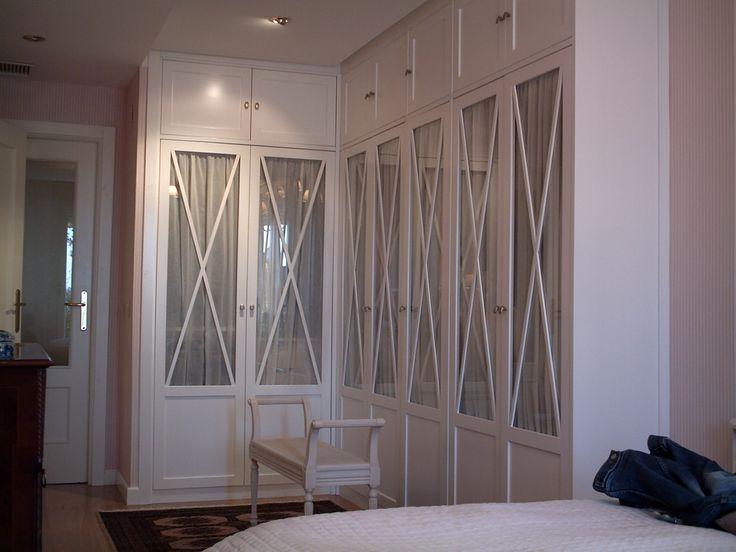 Ideas para armarios empotrados interesting empotrado las mejores ideas sobre puertas de armario - Puertas de cristal para armarios ...