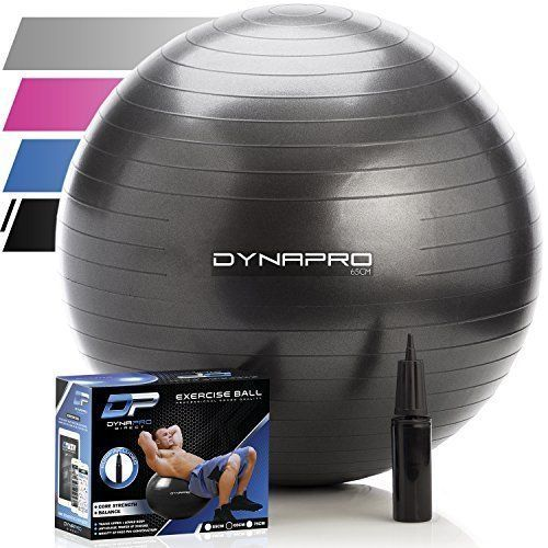 Exercise Ball Stability Yoga Home Balance Gym Core Strength Fitness Desk Chairs #ExerciseBallStabilityYoga