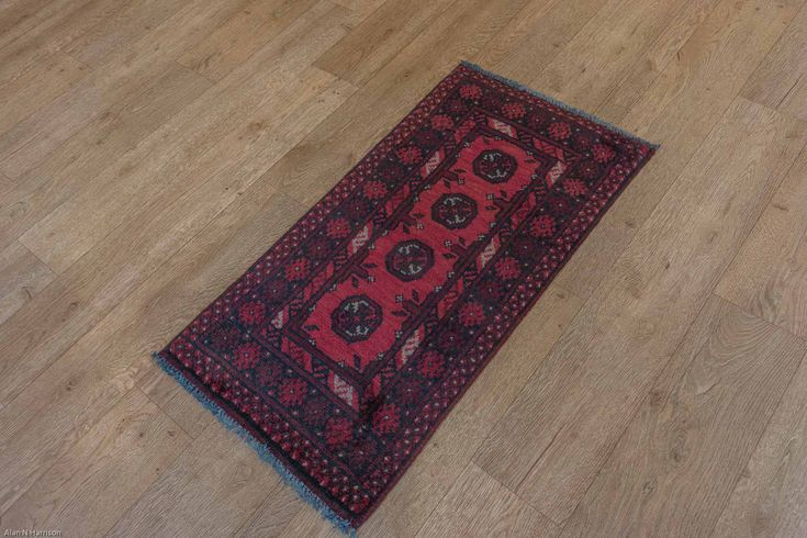 Hand Knotted Pushti Rug from Afghanistan. Length: 96.0cm by Width: 46.0cm. Only £39 at https://www.olneyrugs.co.uk/shop/rugs-for-sale/afghan-pushti-22011.html    Visit our site and see our gorgeous assortment of Persian rugs, carpets, kilim ottomans and Kilim cushion covers at www.olneyrugs.co.uk