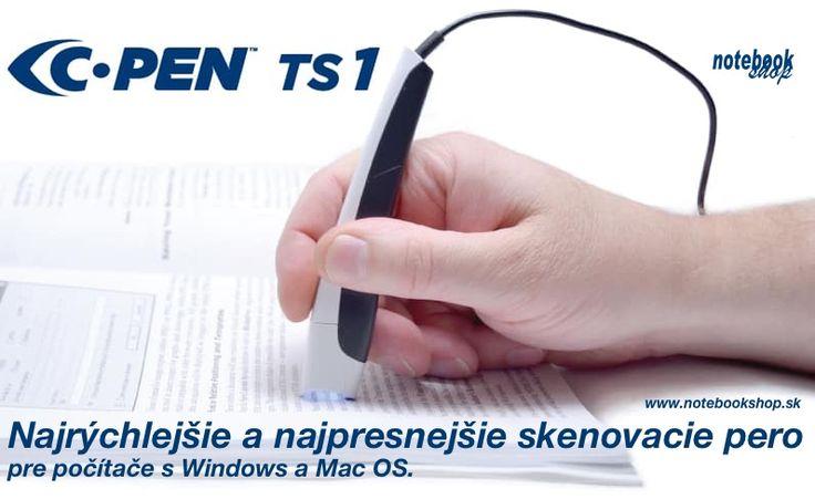 Ručný skener C-Pen TS1