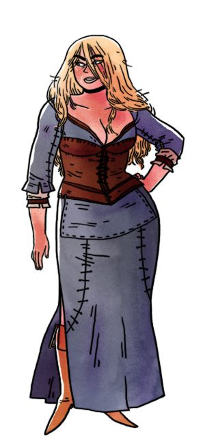 Common Clothing, from The Elder Scrolls V: Skyrim by Bethesda by Emily Carroll at Draw this Dress