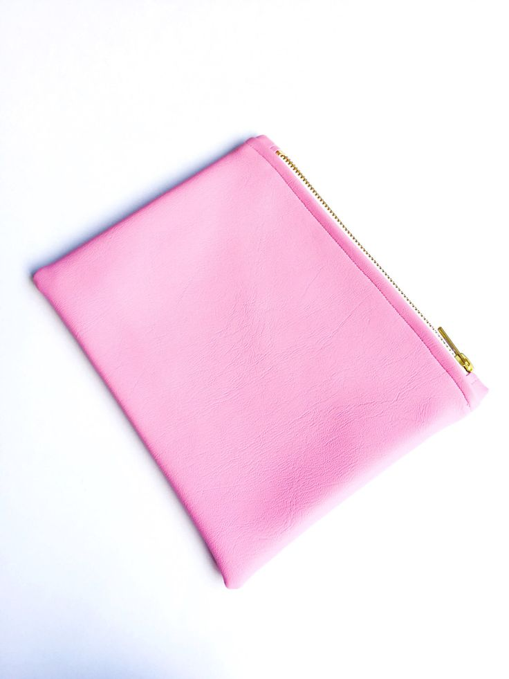 Small Pink Faux Leather Pouch by FantasticCraftyFox on Etsy https://www.etsy.com/uk/listing/464088489/small-pink-faux-leather-pouch