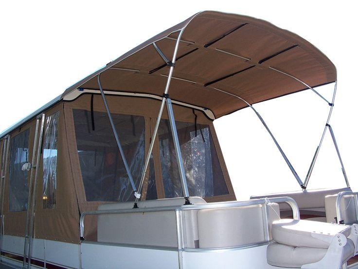 pontoon boat enclosures | home covers enclosures bimini s interior upholstery pontoon rebuilds ...