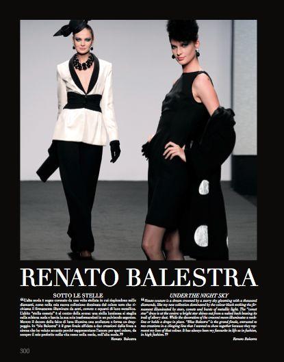Focus on Renato Balestra in Rome chapter. #RenatoBalestra #HauteCouture #catwalks #fashion #woman #style #clothes #dress #look