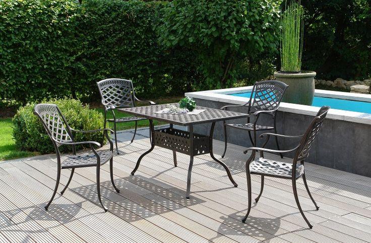 17 best images about gartenm bel aus aluminium guss on pinterest duke capri and eyes. Black Bedroom Furniture Sets. Home Design Ideas