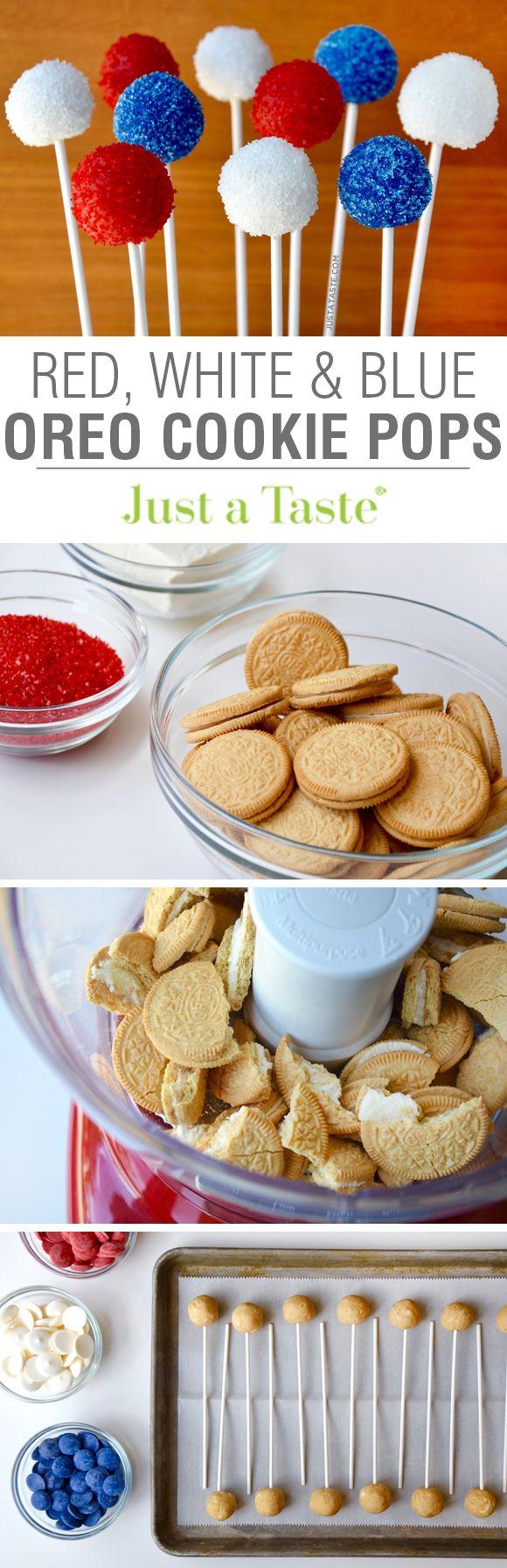how to make blue oreo cookies